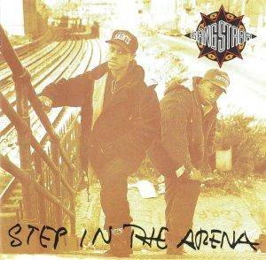 Gang Starr: Step In The Arena - Cover