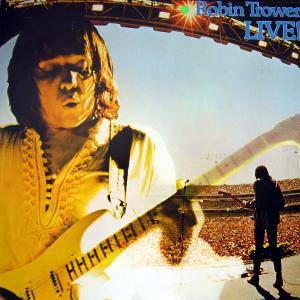 Robin Trower: Live! - Cover
