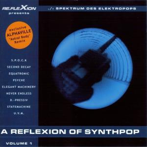 Reflexion Of Synthpop Volume 1, A - Cover