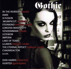 Gothic File 11|1 - Cover