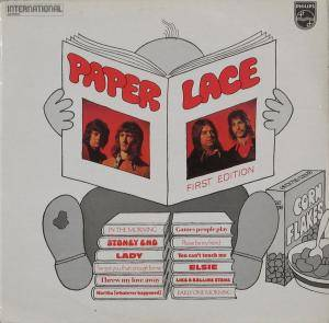 Cover - Paper Lace: First Edition