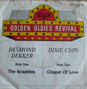 Desmond Dekker: Israelites / Chapel Of Love, The - Cover