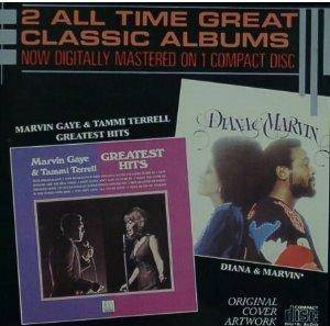 Cover - Diana Ross & Marvin Gaye: Marvin Gaye & Tammi Terrell Greatest Hits / Diana & Marvin