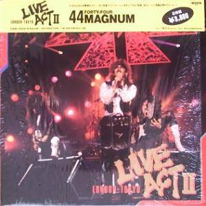 44 Magnum: Live Act II - Cover