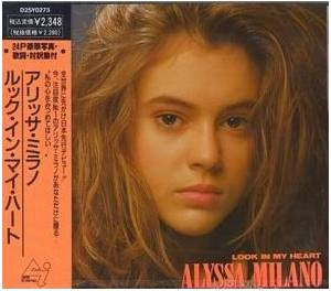 Alyssa Milano: Look In My Heart - Cover