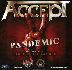 Cover - Accept: Pandemic / Roadkill (...Or Be Killed)
