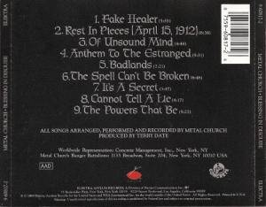 Metal Church: Blessing In Disguise (CD) - Bild 2