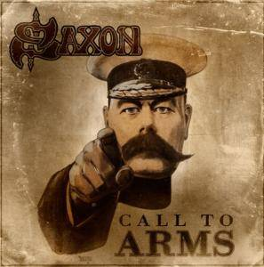 Saxon: Call To Arms - Cover