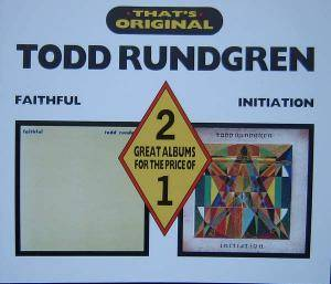 Cover - Todd Rundgren: Faithful / Initiation