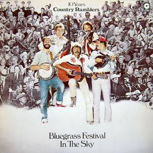 Cover - Country Ramblers: Bluegrass Festival In The Sky