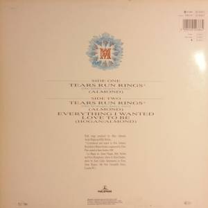 "Marc Almond: Tears Run Rings (12"") - Bild 2"