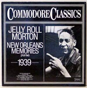 Cover - Jelly Roll Morton: New Orleans Memories Plus Two