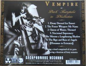 Cradle Of Filth: V Empire (Or Dark Faerytales In Phallustein) (Mini-CD / EP) - Bild 3