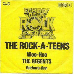 Cover - Rock-A-Teens, The: Woo-Hoo / Barbara-Ann