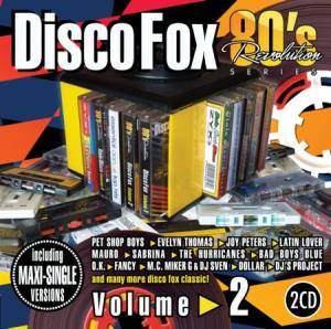 Cover - Del Faro: 80's Revolution Disco Fox Volume 2