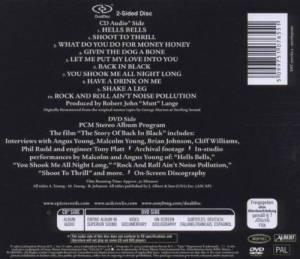 AC/DC: Back In Black (DualDisc) - Bild 2