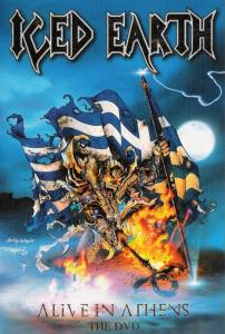 Iced Earth: Alive In Athens - The DVD (DVD) - Bild 1
