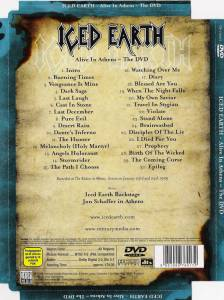 Iced Earth: Alive In Athens - The DVD (DVD) - Bild 2