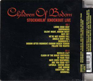 Children Of Bodom: Stockholm Knockout Live (2-CD) - Bild 2