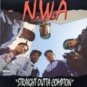 N.W.A: Straight Outta Compton - Cover