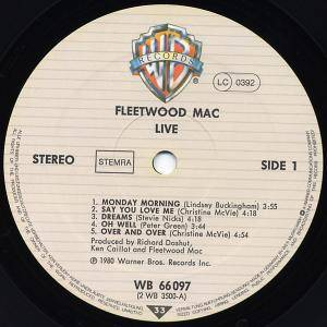 Fleetwood Mac: Live (2-LP) - Bild 4