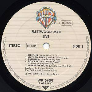 Fleetwood Mac: Live (2-LP) - Bild 5