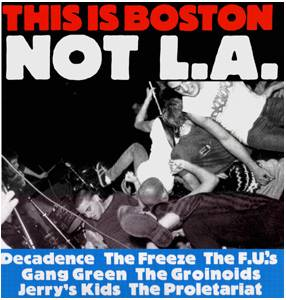 This Is Boston Not L.A. - Cover