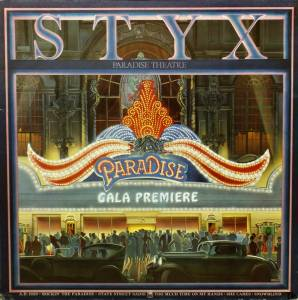 Styx: Paradise Theatre - Cover