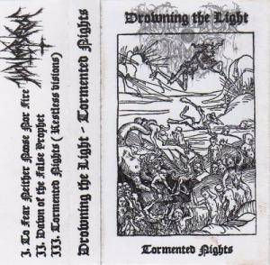 Cover - Drowning The Light: Tormented Nights