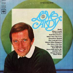 Cover - Andy Williams: Love, Andy