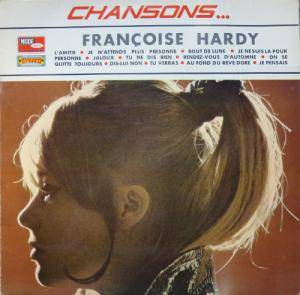Cover - Françoise Hardy: Chansons...