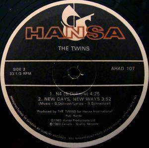 "The Twins: Face To Face - Heart To Heart (12"") - Bild 3"