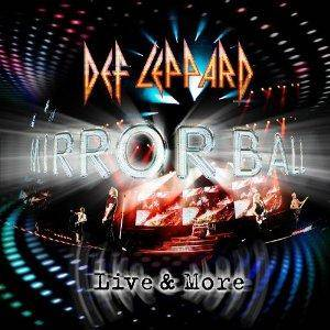 Def Leppard: Mirror Ball - Live & More - Cover