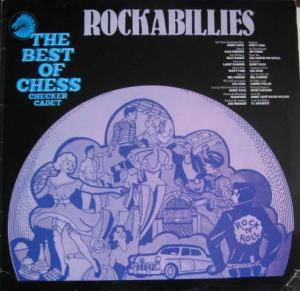 Cover - Eddie Fontaine: Best Of Chess, Checker, Cadet...Rockabillies, The