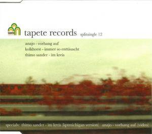 Cover - Anajo: Tapete Records - Splitsingle 12