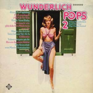 Klaus Wunderlich: Wunderlich Pops 2 - Klaus Wunderlich And His New Pop Organ Sound - Cover
