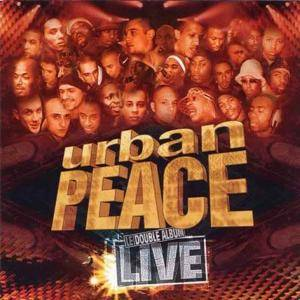 Cover - Sniper: Urban Peace - Le Double Album Live