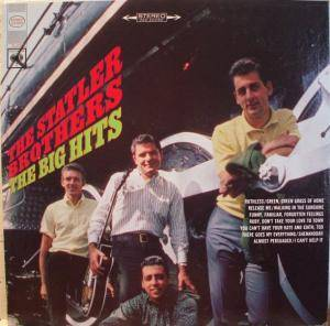 Cover - Statler Brothers: Big Hits, The
