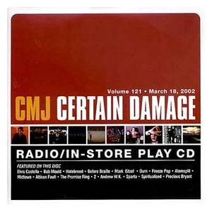 Cover - Before Braille: CMJ - Certain Damage! Vol. 121