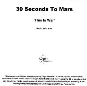 Cover - 30 Seconds To Mars: This Is War