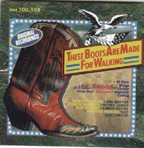 Cover - Don David Jr.: These Boots Are Made For Walking
