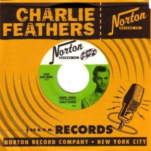 Cover - Charlie Feathers: Corrine ,Corrina / Runnin Around