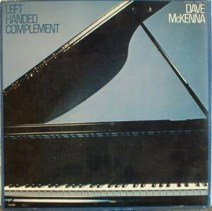 Cover - Dave McKenna: Left Handed Complement