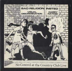 Bad Religion: No Control At The Country Club - Cover