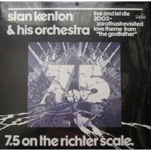 Cover - Stan Kenton & His Orchestra: 7.5 On The Richter Scale