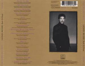 Lionel Richie: Back To Front (CD) - Bild 2