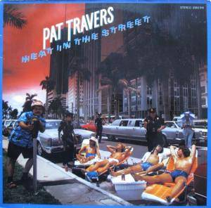 Pat Travers: Heat In The Street - Cover