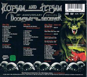 Flotsam And Jetsam: Doomsday For The Deceiver (2-CD + DVD) - Bild 4