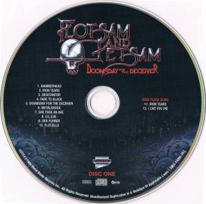 Flotsam And Jetsam: Doomsday For The Deceiver (2-CD + DVD) - Bild 8
