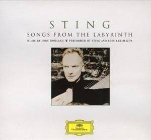 Sting: Songs From The Labyrinth - Cover